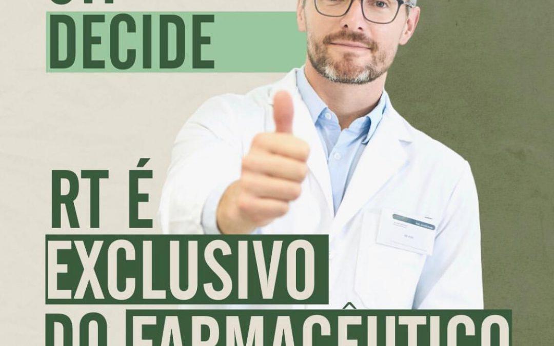 Conselhos garantem vitória à profissão no julgamento de recurso do processo contra técnico em farmácia.
