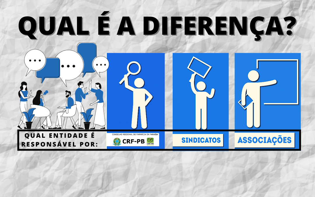 Farmacêutico, você sabe a diferença entre as atribuições do Conselho Regional de Farmácia e do Sindicato dos Farmacêuticos?