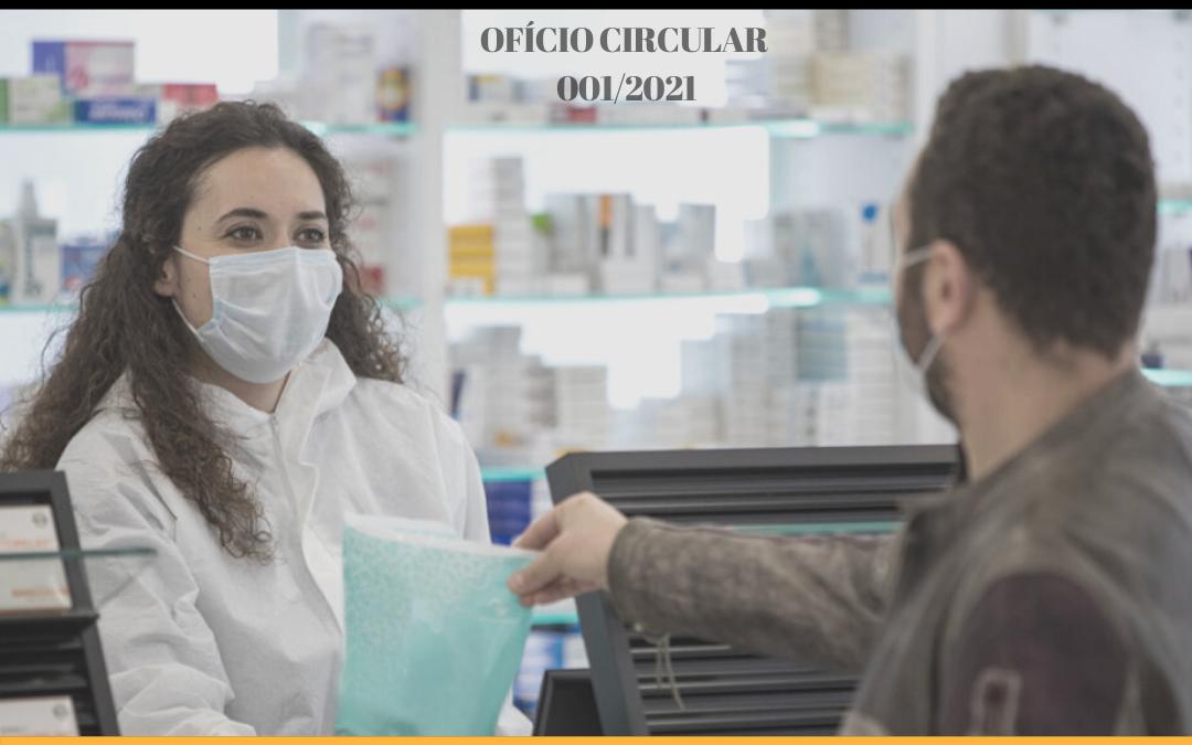 CRF-PB expede ofício endereçado ao Secretário Municipal de Saúde solicitando inclusão dos farmacêuticos no plano de vacinação