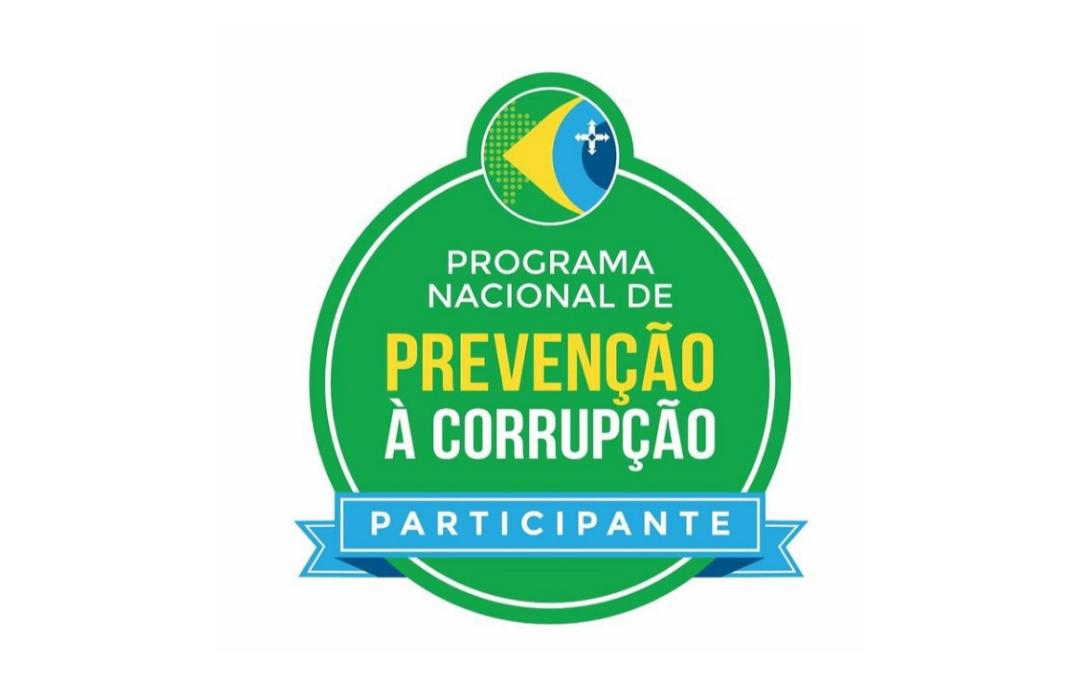 CRF-PB recebe selo de participação no Programa Nacional de Prevenção à Corrupção